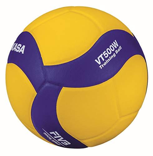 MIKASA Unisex– Erwachsene VT500W Volleyball, blau, 5