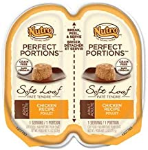 product image for Nutro Perfect Portions Adult Cat Food Soft Loaf - Chicken - 3.97 Lb