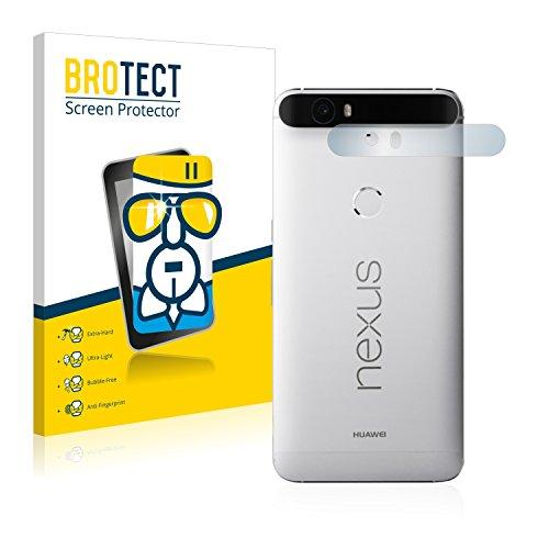 BROTECT Protector Pantalla Cristal Compatible con Google Nexus 6P (SÓLO Cámara) Protector Pantalla Vidrio - Dureza Extrema, Anti-Huellas, AirGlass