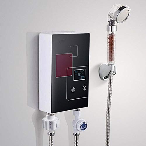 6000w Elektro Sofort Durchlauferhitzer Tippen Sie Auf Sofortige HeißE Dusche FüR Bad KüChenspüLe Wasserhahn Heizwasser Multi-Display