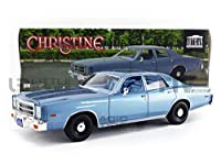 1977 Plymouth Fury Steel Blue (Detective Rudolph Junkins') Christine (1983) Movie 1/18 Diecast Model Car by Greenlight 19082 商品カテゴリー: ダイキャスト [並行輸入品]