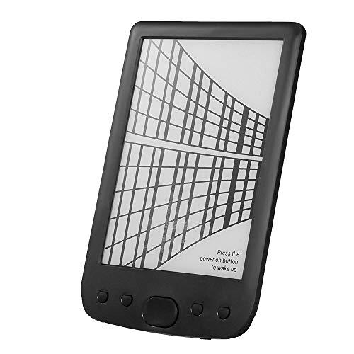 Ebook Reader, Entweg Portable E-Book Reader BK-6025 16 GB E-Ink 6 pollici E-Reader multifunzione 800 * 600 Schermo ad alta risoluzione 300 DPI