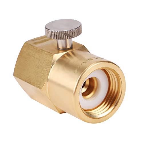 MorNon CO2 Adapter zur Befüllung von Sodastream Soda Club 425g Wassersprudler W21.8 Adapter Connector Kit