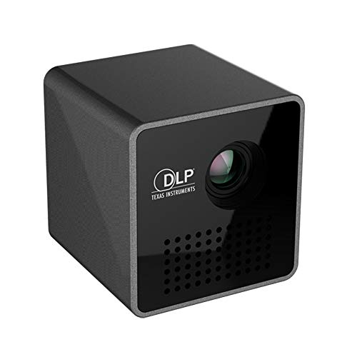Lily WiFi Drahtloser Taschen DLP Mini Beweglicher Projektor 40 ANSI-Lumen Micro Miracast DLNA Videoprojektor UNIC P1 + H WiFi