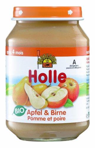 Holle Apfel & Birne, 6er Pack (6 x 190 g) - Bio