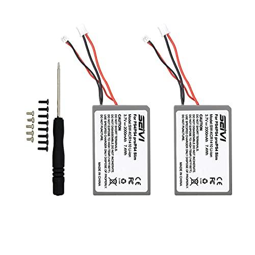 SEIVI [2 Pack] 2000mAh LIP1522 Replacement Battery...