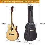 Immagine 2 cahaya custodia chitarra borsa per