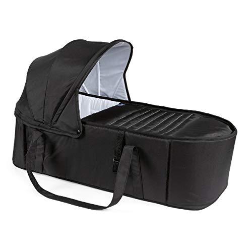 Chicco Miinimo und Chicco Goody Babyschale für Kinderwagen, Belastbarkeit bis 9 kg, Schwarz (Jet Black)