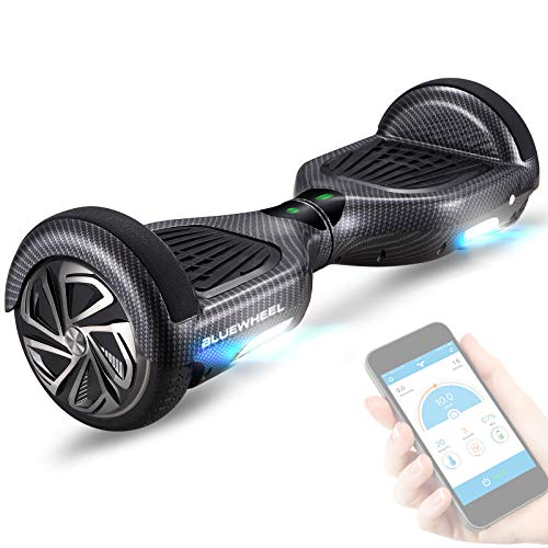 """6,5\"""" Premium Hoverboard Bluewheel HX310s - Deutsches Qualitätsunternehmen - Kinder Sicherheitsmodus & App - Bluetooth Lautsprecher - Starker Dual Motor - LED -Elektro Skateboard Self Balance Scooter"""