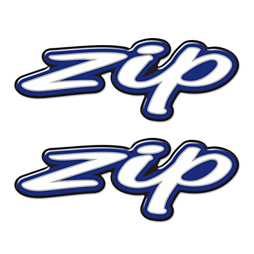 Qwjdsb para Piaggio Vespa Zip 2T 4T 125 SP 50100 50cc 2016 2017 2018 2019 2020,Pegatinas con Logotipo de Emblema 3D de Scooter