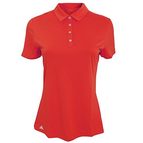adidas Teamwear - Polo Leggera a Manica Corta - Donna (XS) (Rosso)