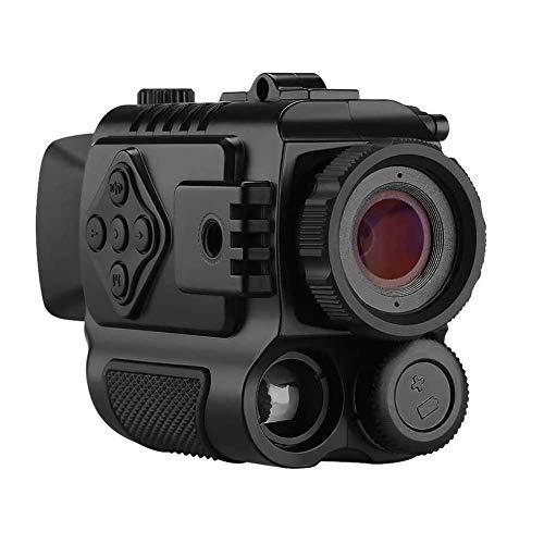 FMOGE Nachtsicht-Monokular, Digital-Nachtsicht-HD-Zielfernrohre, mit 8-GB-Karte 5-Fach Digitalzoom-Infrarot-Nachtsichtfernrohr, für Outdoor/Jagd/Wandern