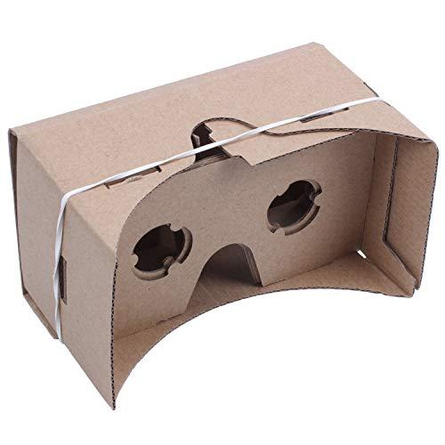 TOOGOO 6 Occhiali da Vista in Pollice DIY 3D VR Realtà Virtuale per Cartone