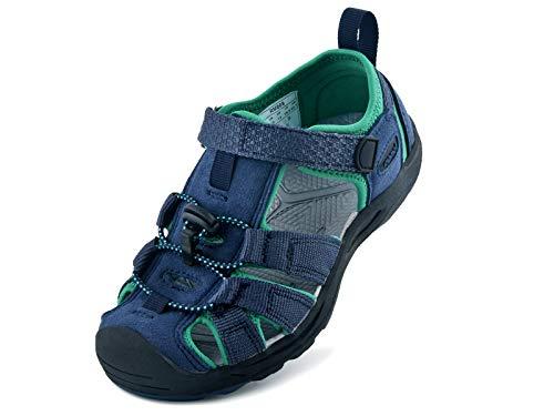 riemot Sandalias Deportivas para Niños, Sandalia para Trekking Verano Zapatillas de Deporte al Aire Libre Zapatos Playa Antideslizantes, para Caminar, Viajar, Senderismo, Correr