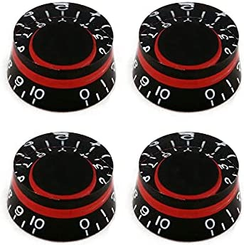 Bogart Guitar Knobs 6mm Cheap mail order specialty store Bombing free shipping Shaft Volume Hat Top Control Tone