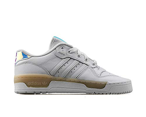 adidas Rivalry Low W Baskets Mode Femme Blanc, 36 2/3