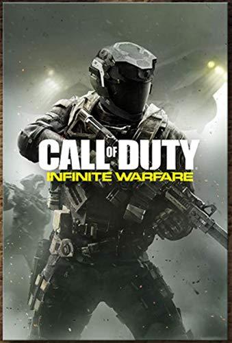 xuyuandass Call of Duty Modern Warfare Game Póster De Lienzo Impresión HD Arte De Bricolaje Mural Moderno Hogar Sala De Estar Decoración Pintura Sin Marco 40X60Cm 3875K
