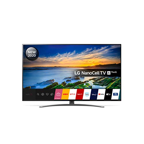 LG 55NANO866NA 55 Inch UHD 4K HDR Smart NanoCell LED TV with Freeview HD/Freesat HD - Light Black colour (2020 Model) with Alexa built-in and Magic Remote included[Energy Class A]