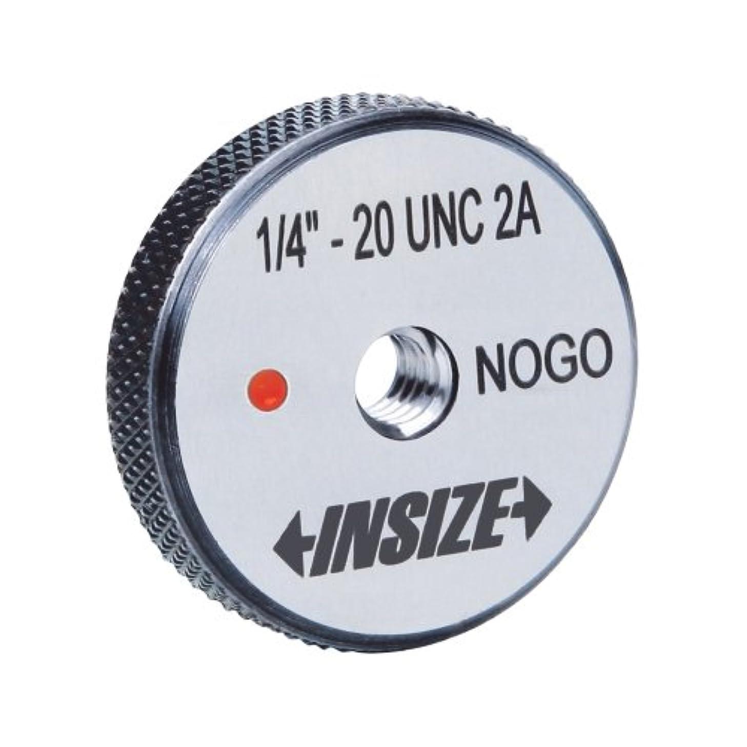 INSIZE 4121-5D1N American Standard Thread Ring Gage, No Go, 5/16-18 UNC
