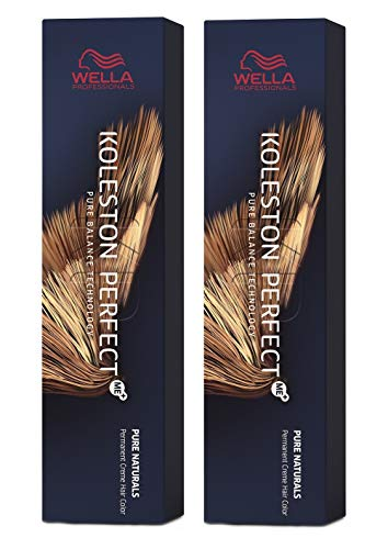 Wella 2 er Pack Koleston Perfect Me+ KP PURE NATURALS 2/0 schwarz
