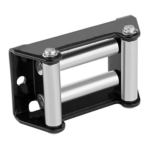 MSW Rollenfenster Seilfenster Seilführung für Seilwinden PROMOUNT RS 2000/3500 (4 Führungsrollen Ø 15,6 mm, Zugleistung 2.000-3.5000 lbs, Lochabstand 109 mm)