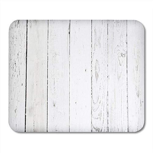 Mouse Pad Graues Holz Schwarz Verwitterte Holzplanke Farbe Rustikaler Tisch Bodenleuchte Mousepad Mausmatte Personalisierte Spielmatte Tastatur Schreibtisch Spezial Laptop Gummi 2