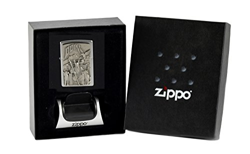 Zippo Odin emblem im Geschenkset mit Magnetständer