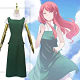 WFWPY Anime Uniform Cosplay Naruto Cosplay Costume Anime Costume Props for Adults Including A Full Set of Clothing + Accessories - Uzumaki Kushina