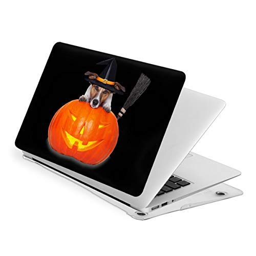 Jack Russell Terrier Halloween MacBook Pro 13 Inch Case Slim Fits with A2159 A1989 A1706 A1708 Hard Shell Protective Cover Compatible with Apple Mac Pro 13