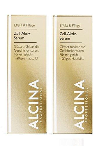 2er E Zell Aktiv Serum pflegende Kosmetik Alcina glättet fühlbar die Gesichtskonturen je 30 ml = 60 ml