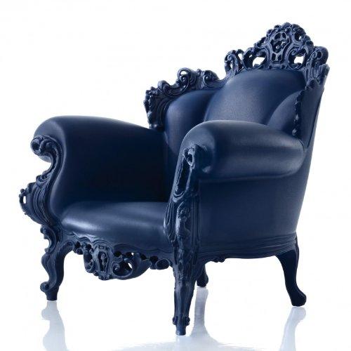 Magis Proust Outdoor-Sessel, dunkelblau