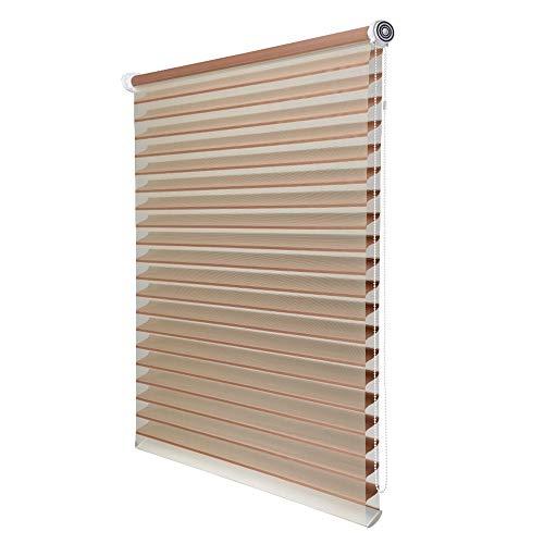 DS- Vorhänge Jalousie-Home Hebe Rollo Stoffrollos, geeignet for Büro Schlafzimmer Wohnzimmer Küche (Größe kann angepasst Werden) && (Size : 60x180cm)