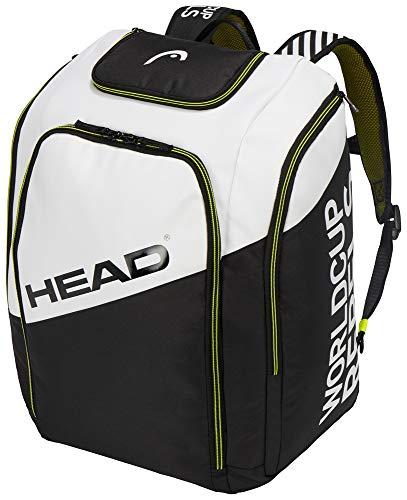 Head Rebels Racing - Mochila (pequeña, 50 L), color negro/blanco, tamaño 50 L
