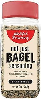 Wishful Everything Bagel Seasoning 9 Ounce - Salt Free - XL Bottle