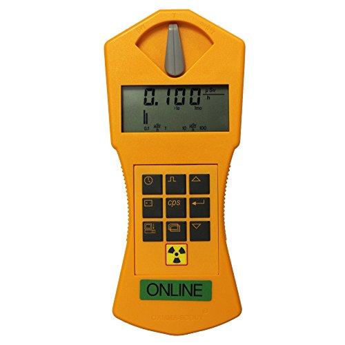 Geiger Counter Gamma-Scout Online Version - Hand Held Radiation Detector