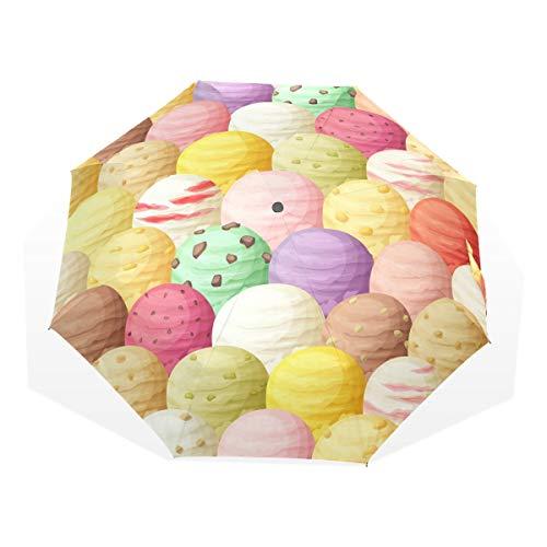 Tipo de paraguas: paraguas anti UV 3 pliegues