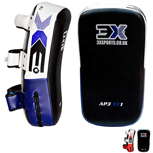 3X Professional Choice Boxing Strike Shield Training Thai Pad Kickboxing Krav MAGA MMA Target Focus Punching Mitts (Sold AS Single Item)