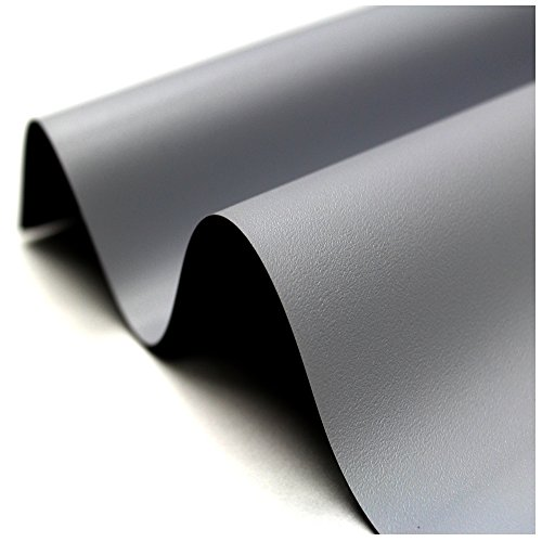 Elite Screens Designer Cut, 135-inch 16:9, Blackout DIY High Contrast Grey Projector Screen Material, ZRM-135H-CINEGREY