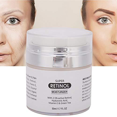 Crema hidratante facial antioxidante, antienvejecimiento, crema revitalizante y antiarrugas revitalizante, elastina y colágeno reafirmantes, protege el cuidado de la piel en seco y natural