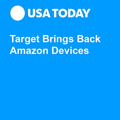 Target Brings Back Amazon Devices audiobook cover art