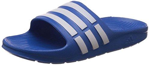 adidas Performance Duramo Slide K, Unisex-Kinder Dusch- & Badeschuhe, Blau (Bahia Blue S14/Running White Ftw/Bahia Blue S14), 38 EU