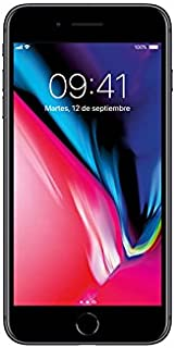 Smartphone Apple iPhone 8 Plus 256GB color gris. AT&T pre-pago