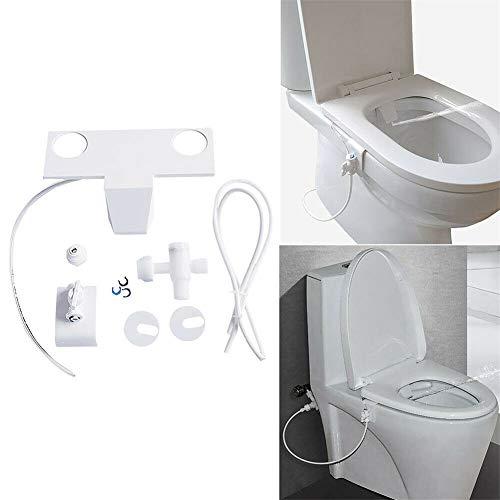 M-PENG Toilettensitz-Bidet mit Düse Selbstreinigende Düse Nicht Elektrischer Mechanischer Frischwasser-Bidet-Toilettenaufsatz