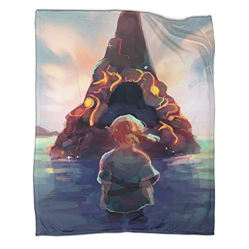 Xaviera Doherty Hairu Warrior Zelda Age of Disaster Game - Manta de franela para regalo (180 x 230 cm)