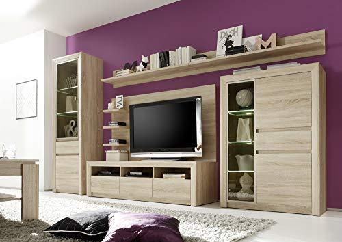 trendteam SV31845 TV Möbel Lowboard Eiche Sonoma hell, BxHxT 164x46x48 cm - 4