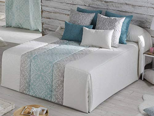 Orian - Conforter Dakota Cama 150 - Color Turquesa