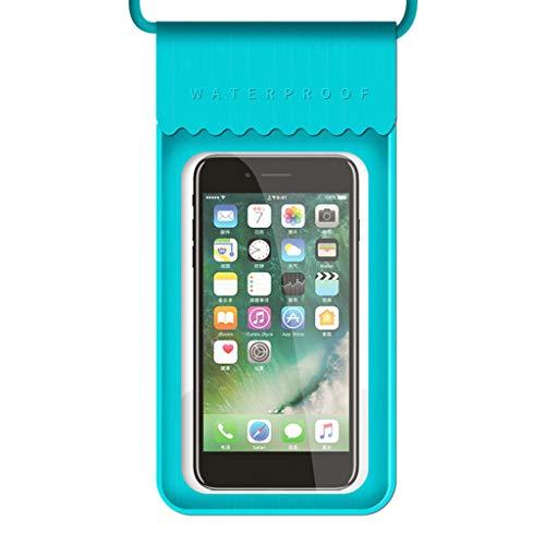 BELTI TPU Impermeable HD teléfono móvil Bolsa Pantalla táctil Bolsa de natación Playa Piscina Buceo Snorkel Funda móvil