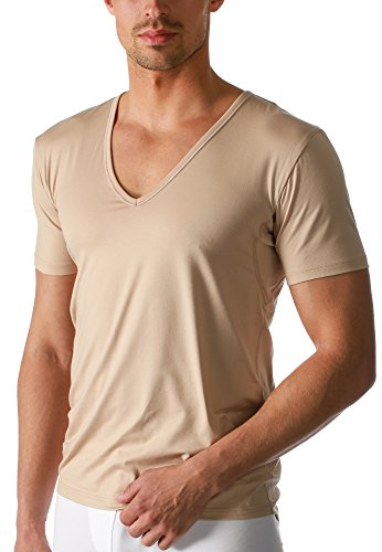 Mey Basics Serie Dry Cotton Herren Shirts 1/2 Arm, Light Skin, 6