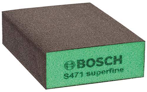 Bosch Professional 2 608 228 Esponja de lijado súperfina, Verde, Gris