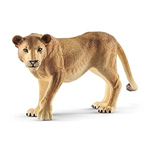 SCHLEICH Wild Life, Animal Figurine, Animal Toys for Boys and Girls 3-8 Years Old, Lioness - 41CVd AlwyL - SCHLEICH Wild Life, Animal Figurine, Animal Toys for Boys and Girls 3-8 Years Old, Lioness